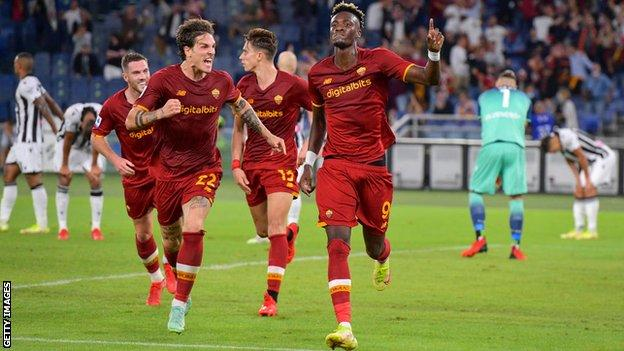 Roma beat Udinese 1-0 in Serie A