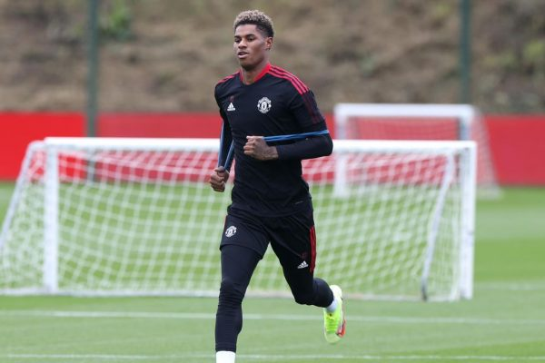 Marcus Rashford is close to returning to training. Manchester United striker Marcus Rashford is close to returning to training after a quicker-than-expected recovery.