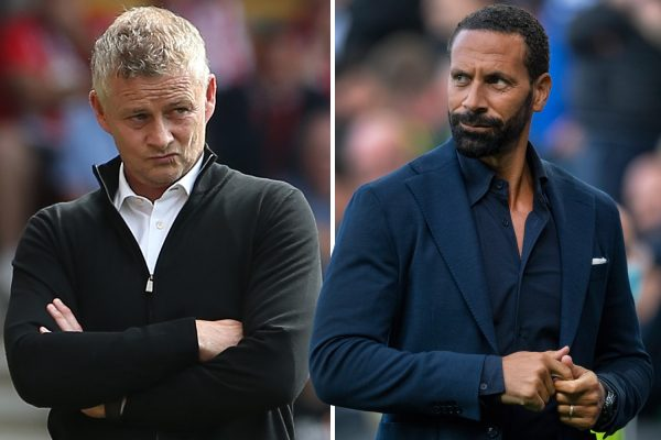 Manchester United boss Ole Gunnar Solskjaer has hit back at his former team-mate Rio Ferdinand. He was who criticized Cristiano Ronaldo for taking orders on the sidelines.