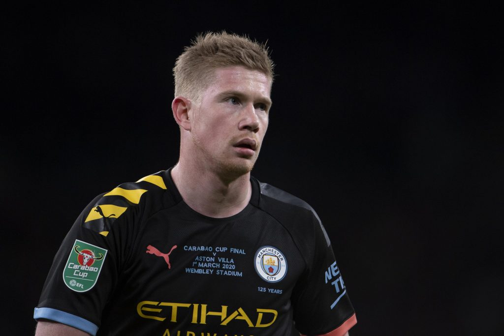 Guardiola waits for 'KDB' to play in the Champions League